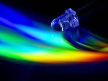Astrazione del LED Fotografie Stock Libere da Diritti
