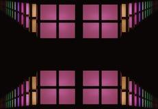 Astrazione delle finestre variopinte Immagine Stock Libera da Diritti