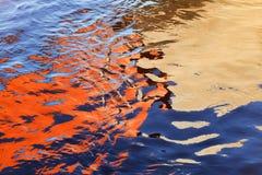 Astrazione di acqua Fotografie Stock Libere da Diritti