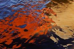 Astrazione di acqua Fotografia Stock