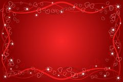 Astrazione di amore del cuore illustrazione vettoriale