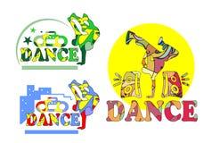 Astrazione di dancing Fotografia Stock Libera da Diritti