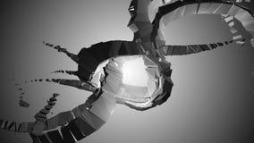astrazione di industriale 3D Fotografie Stock Libere da Diritti