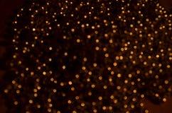 Astrazione dorata Fotografia Stock