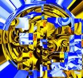 Astrazione e progettazione attraenti Arti grafiche ed arte illustrazione di stock