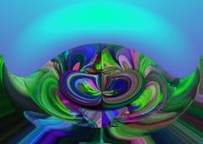 Astrazione Estratto Pittura immagine Struttura strutturato unicità astrazioni estratti strutture colorful colori Grap illustrazione vettoriale