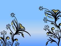 Astrazione floreale illustrazione di stock