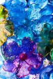 Astrazione floreale Fotografia Stock Libera da Diritti