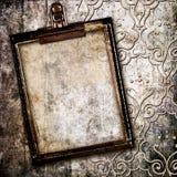 Astrazione incorniciata Grungy Fotografie Stock Libere da Diritti