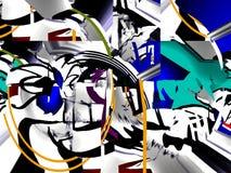 Astrazione interno grafico Pittura Estratto Arte immagine Progettazione royalty illustrazione gratis