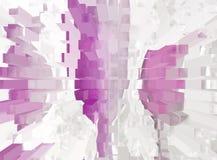 Astrazione interno grafico Pittura Estratto Arte immagine Progettazione illustrazione di stock