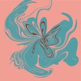 Astrazione luminosa di toni Imitazione di marmo o flusso delle pitture liquide illustrazione vettoriale