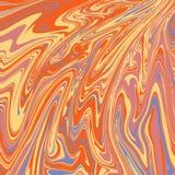 Astrazione luminosa di toni Imitazione di marmo o flusso delle pitture liquide illustrazione di stock