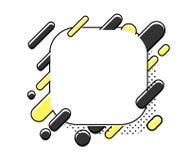 Astrazione moderna di stile Illustrazione di vettore illustrazione vettoriale
