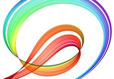 Astrazione multicolore illustrazione di stock