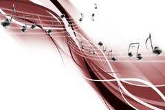 Astrazione musicale illustrazione di stock