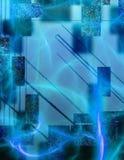 Astrazione nei colori blu royalty illustrazione gratis
