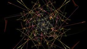 Astrazione scura di movimento a orologeria, progettazione dello steampunk illustrazione vettoriale
