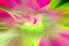 Astrazione sotto forma di petali su un fondo nero, illusioni cosmiche illustrazione di stock