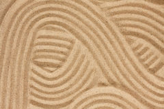 Astrazione sulla sabbia immagini stock