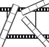 Astrazione una priorità bassa una pellicola un vettore Fotografia Stock