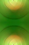 Astrazione verde del cerchio Fotografia Stock Libera da Diritti