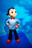 Astro Boy cartoon characters. The photo was taken in Madame Tussauds Hong Kong,China.Wax figures stock photography