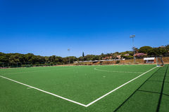 Astro Hockey Field Green Blue Stock Photography
