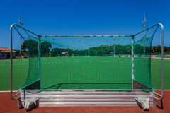 Astro Hockey Fields Goals Stock Photo