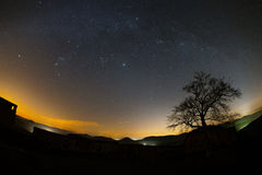 Astro krajobraz Obraz Royalty Free