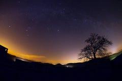 Astro krajobraz Zdjęcia Stock