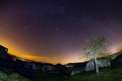 Astro krajobraz Fotografia Royalty Free