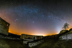 Astro krajobraz Obrazy Royalty Free