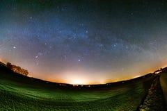 Astro krajobraz Zdjęcia Royalty Free