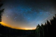 Astro krajobraz Obrazy Stock