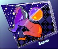 Astro Lion Image stock
