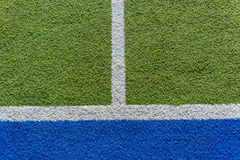 Astro Synthetic Sports Pitch Stock Photos