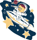 Astro Tot Royalty Free Stock Image