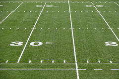 Astro turf field Royalty Free Stock Photo