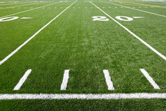Astro Turf Field Royalty Free Stock Images