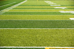 Astro turf field Stock Photos
