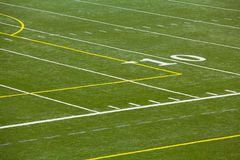 An Astro Turf Football Field Stock Images