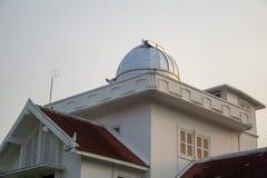 Astrodome e parte superior do primeiros obervatório e planetário em Tailândia fotografia de stock royalty free