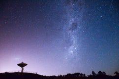 Astrofotografia a Auckland, Nuova Zelanda Fotografie Stock