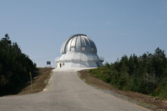 Astrolab in Mont Megantic Lizenzfreie Stockbilder