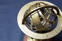 Astrolabe antigo Fotos de Stock Royalty Free