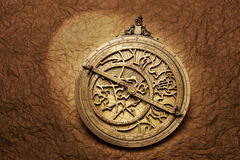 Astrolabe Astrology Horoscope Stock Photo