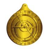 Astrolabe Instrument de mesure Photo stock