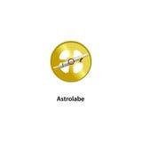 Astrolabewerkzeug Lizenzfreie Stockfotografie