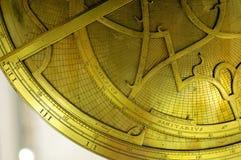 Astrolabio Fotografía de archivo libre de regalías